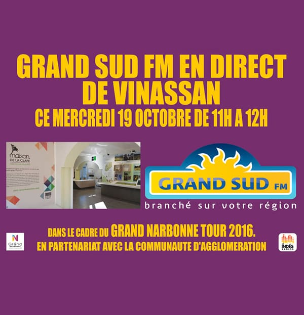 Le Grand Narbonne Tour 2016 à Vinassan