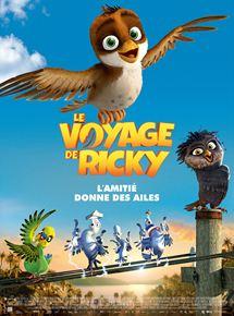 Gagnez 2 places pour le dessin animé «le voyage de Ricky»