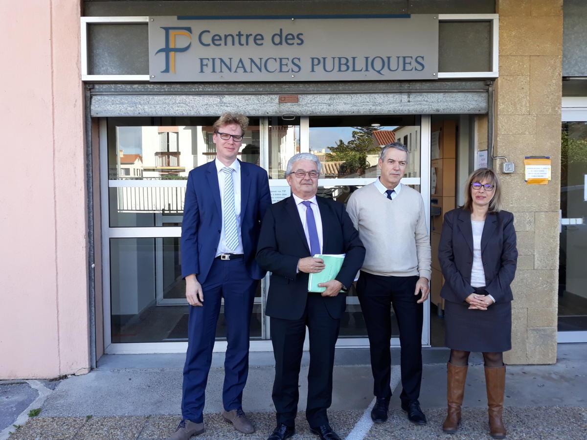 25-01-18 Gérald QUINTIN, le directeur départemental des finances publiques de l'Aude