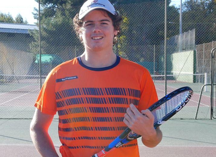 18-01-18 Le tennisman Luca SANCHEZ licencié à Elne dans les PO