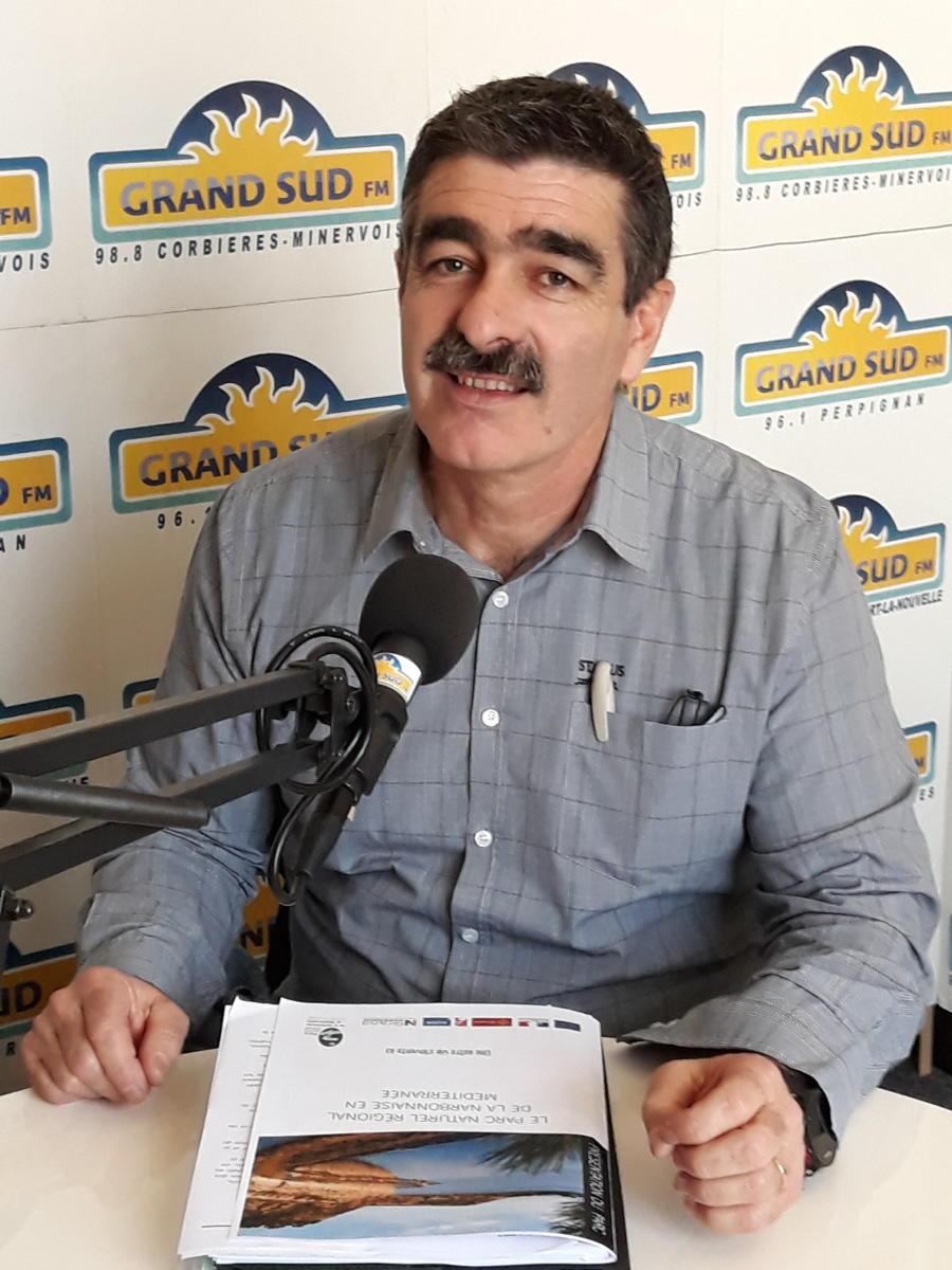 31-01-18 Michel DIAZ, le nouveau directeur du Parc Naturel Régional de la Narbonnaise en Méditerranée