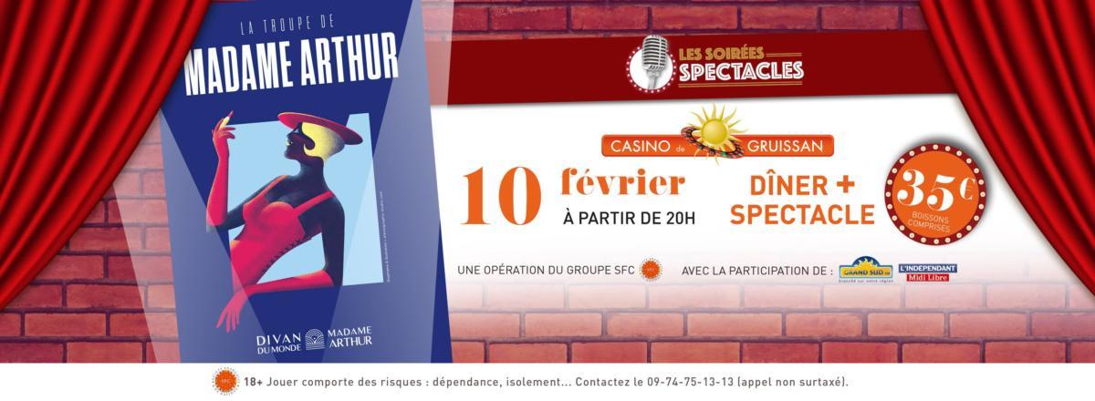 06-02-18 La chargée de communication «Delphine LEBEAU» de la troupe de Mme Arthur