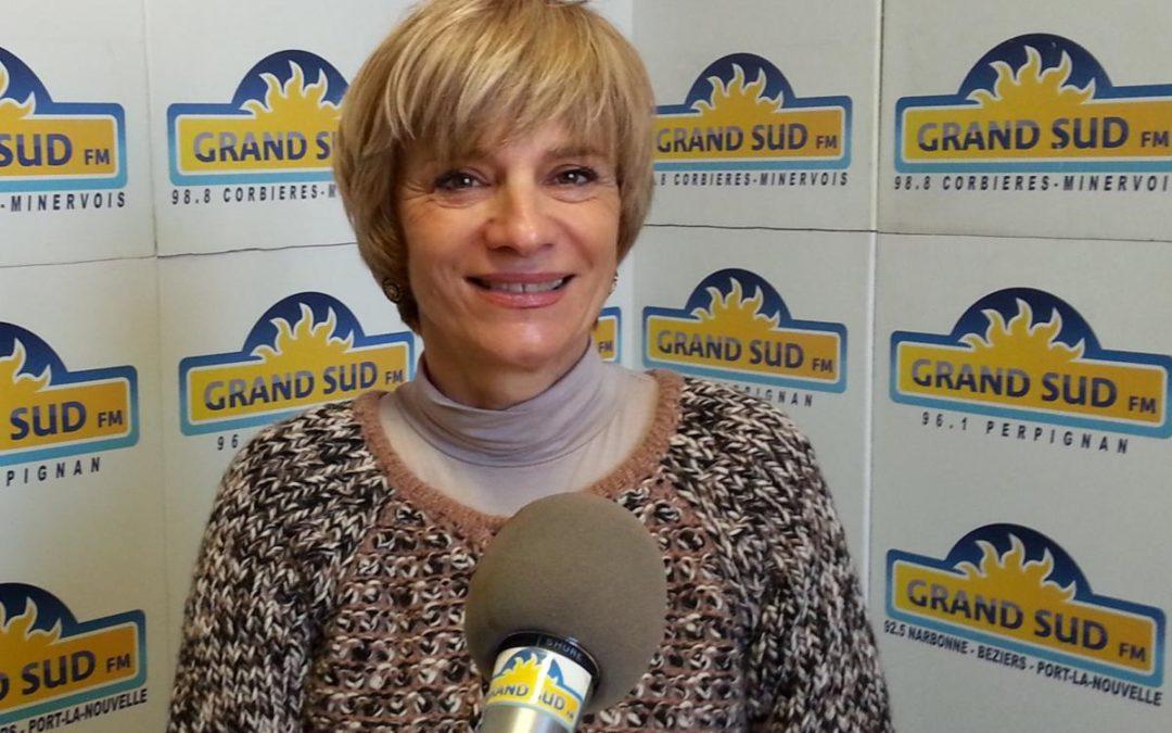 Hélène Sandragné va présider l'Aude en succédant à André Viola le 2 juillet.