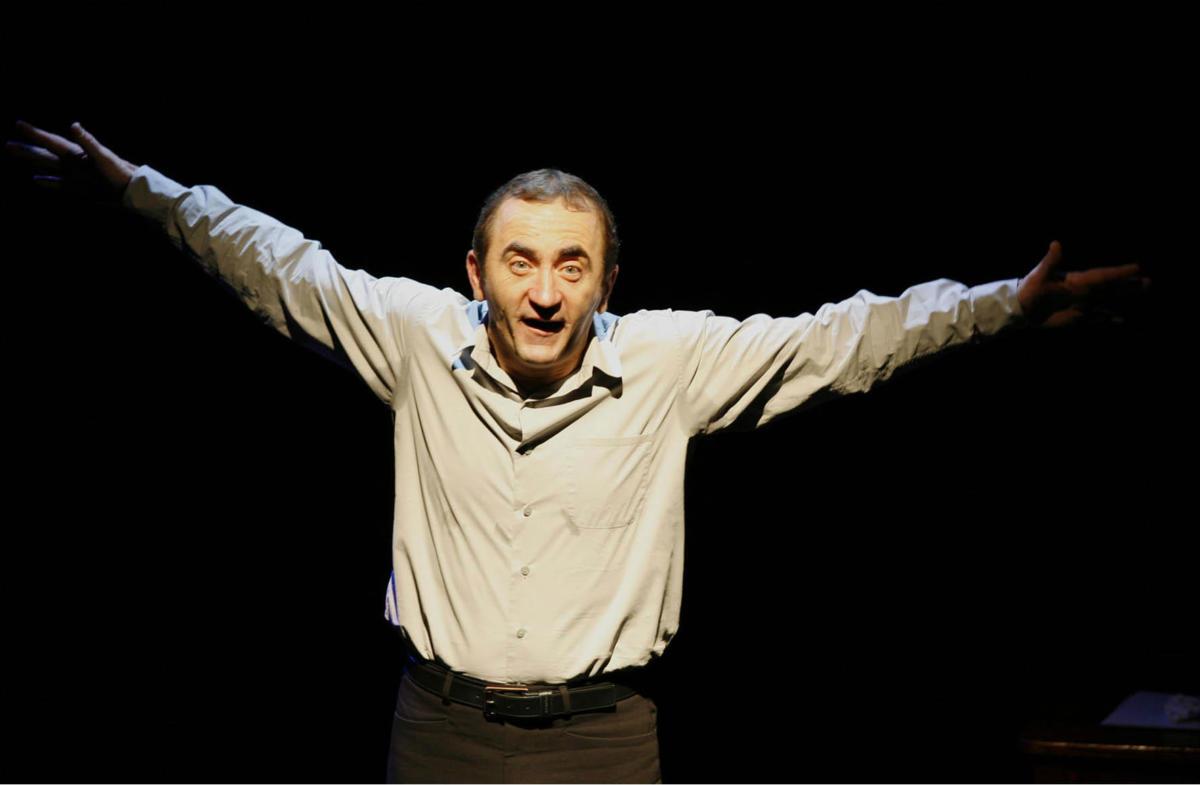 15-02-18 L'humoriste Jean Jacques Vanier au Café de la poste à Narbonne