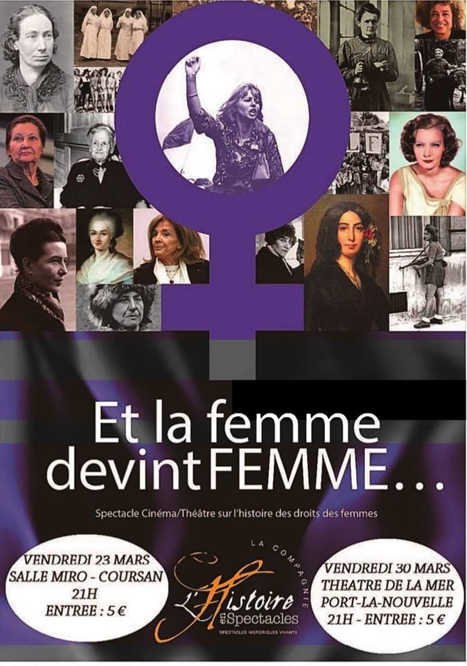 23-03-18 : Yannick SEGUIER, auteur & metteur en scène du spectacle «Et la femme devint femme».