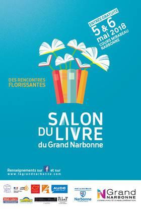 18-04-18 Marie BAT présente la 5 ème édition du salon du livre à Narbonne.