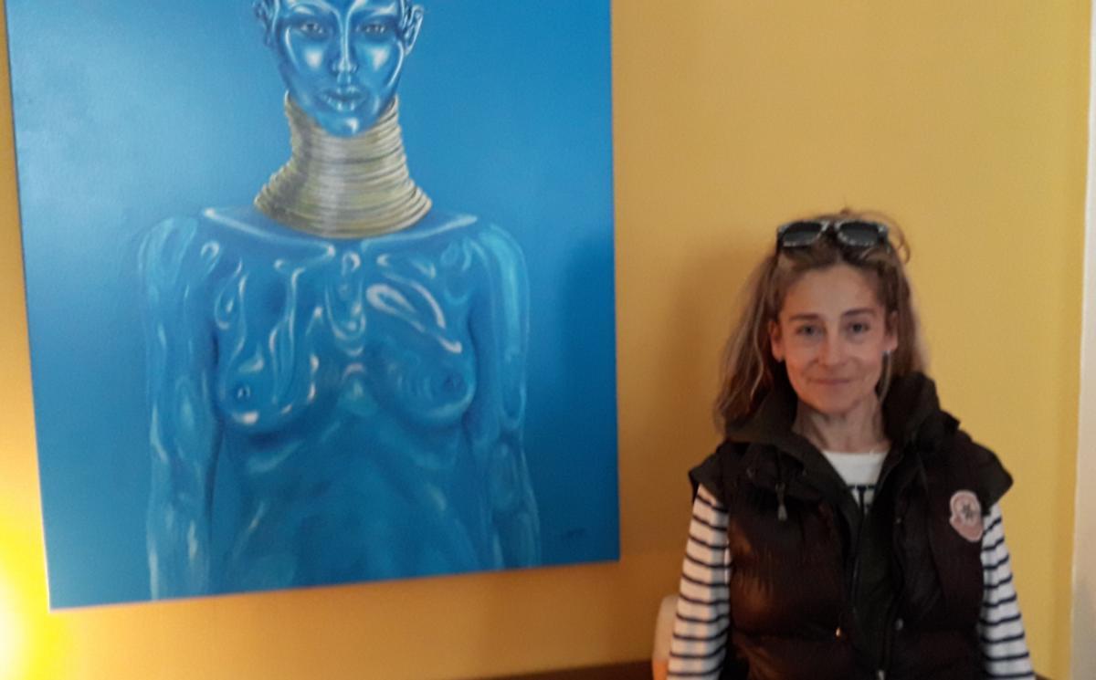 13-04-18 : Suzanne NAVARRO expose au WAW à Narbonne.