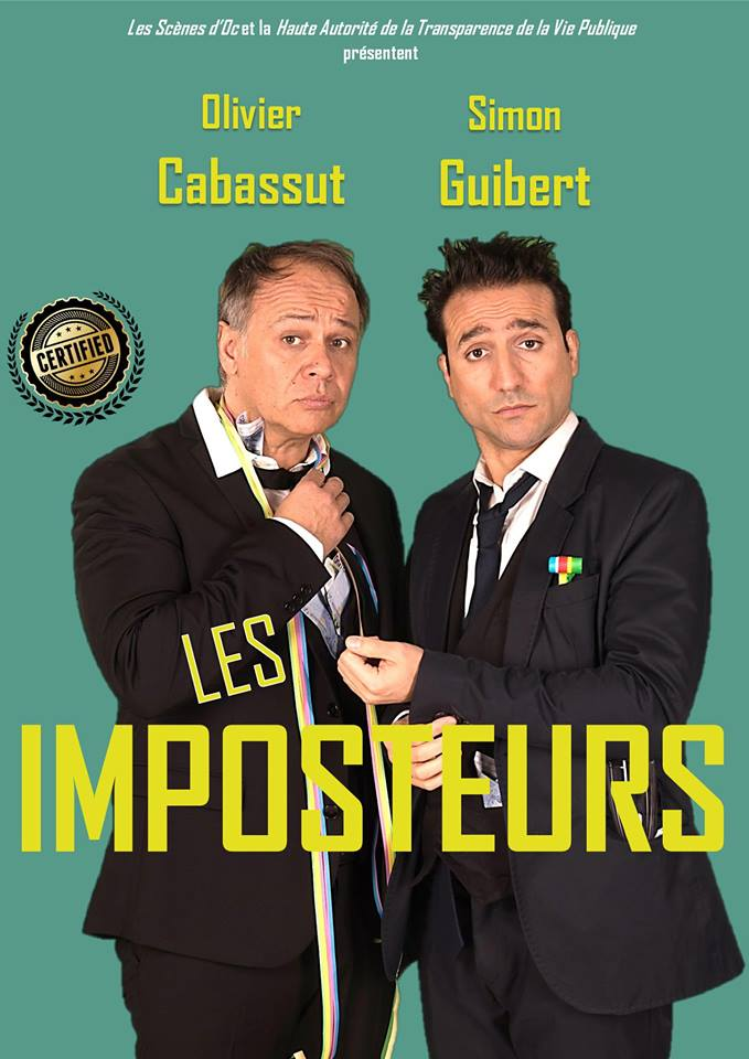 26-04-18 Le comédien Olivier CABASSUT au théâtre Bleu à Narbonne