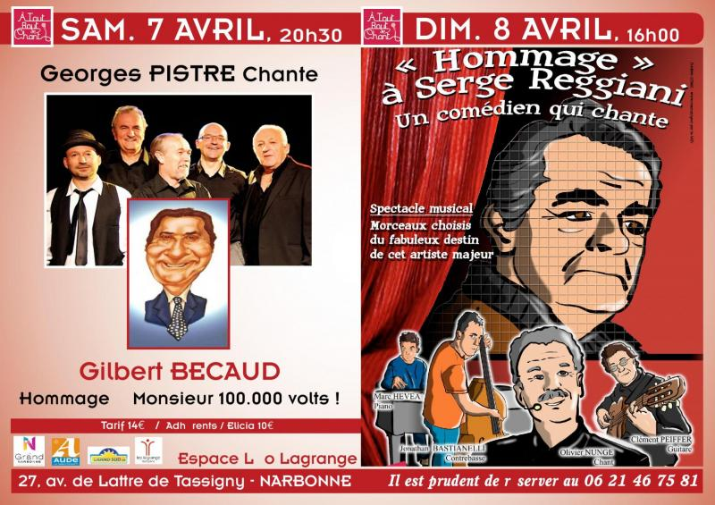04-04-18 : Le chanteur Georges PISTRE