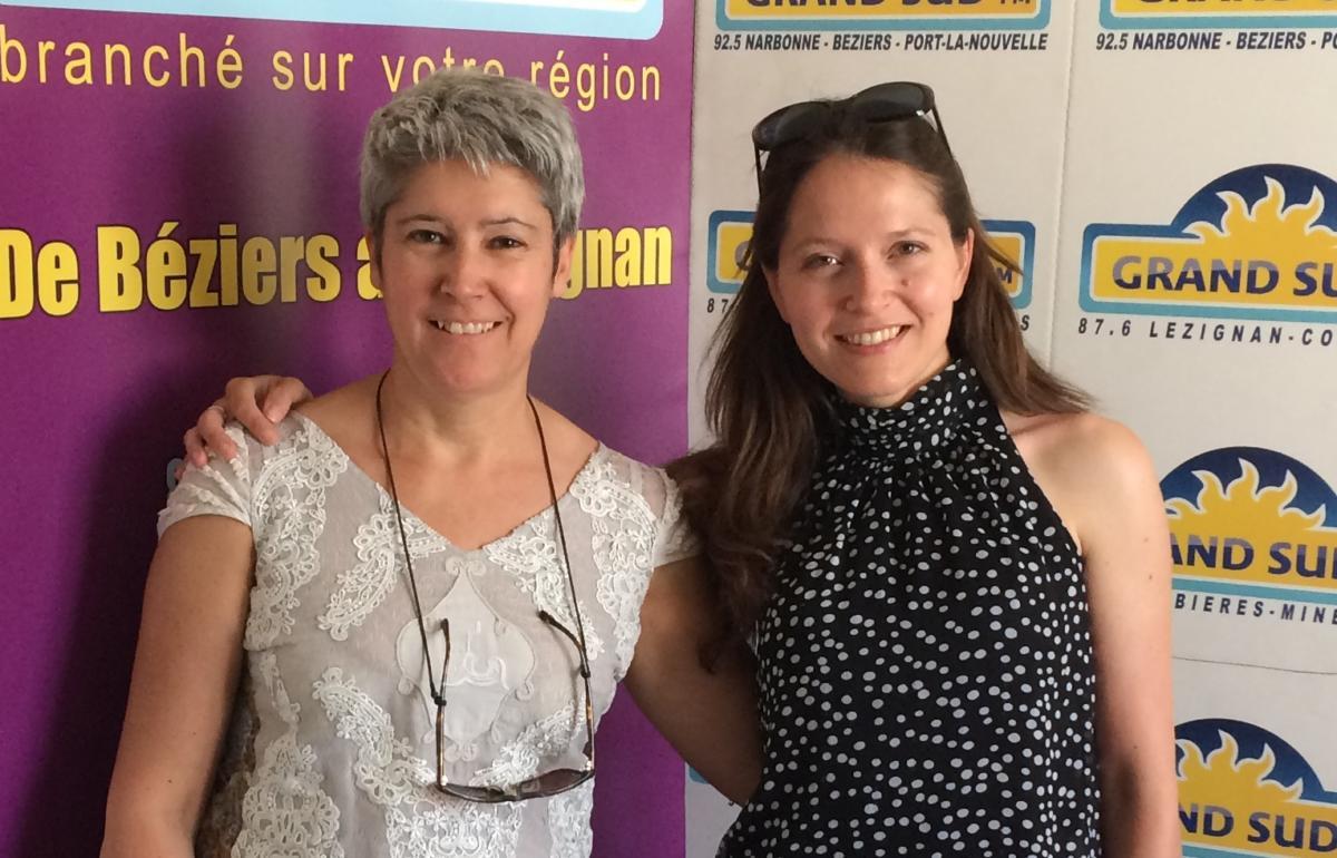 04-05-18 Sylvie MORANGE, présidente de l'association & Christine de Show Mania Company