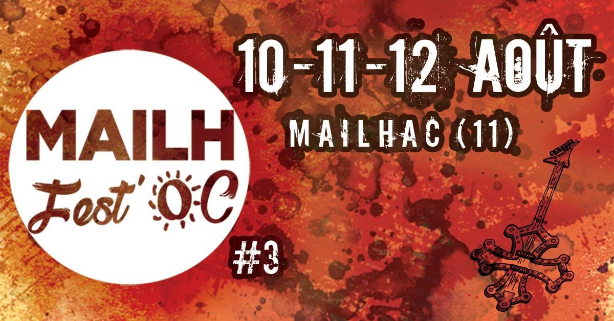 10-09-18 Sandrine LLORENS et Clément ROUVIERE présente la 3ème édition du festival Mailh Fest'Oc