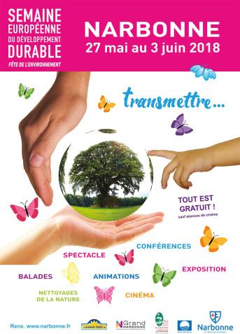 29-05-18 Émission en direct des Halles de Narbonne pour la semaine du développement durable