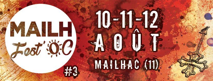 01-08-18 Les organisateurs du festival Mailh'Fest Oc Sandrine LLORENS & Clément ROUVIERE