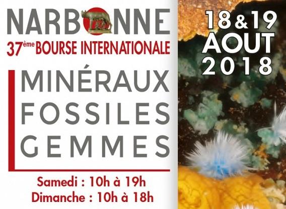 17-08-18 Paulette RIBAYNE, présidente du groupe géologique du Narbonnais
