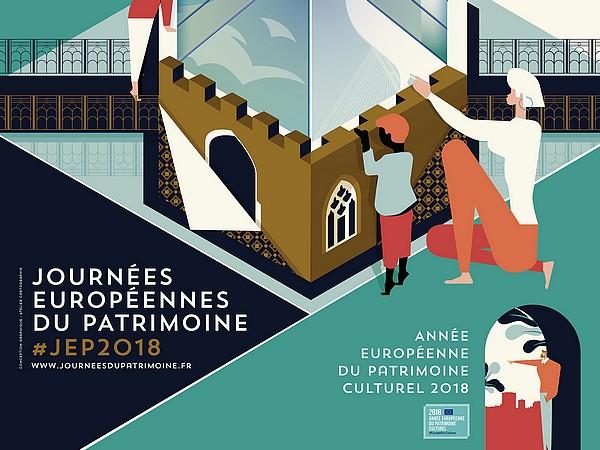 14-09-18 Mireille FRANC, animatrice de l'architecture et du patrimoine, et responsable du service des publics de la ville de Narbonne