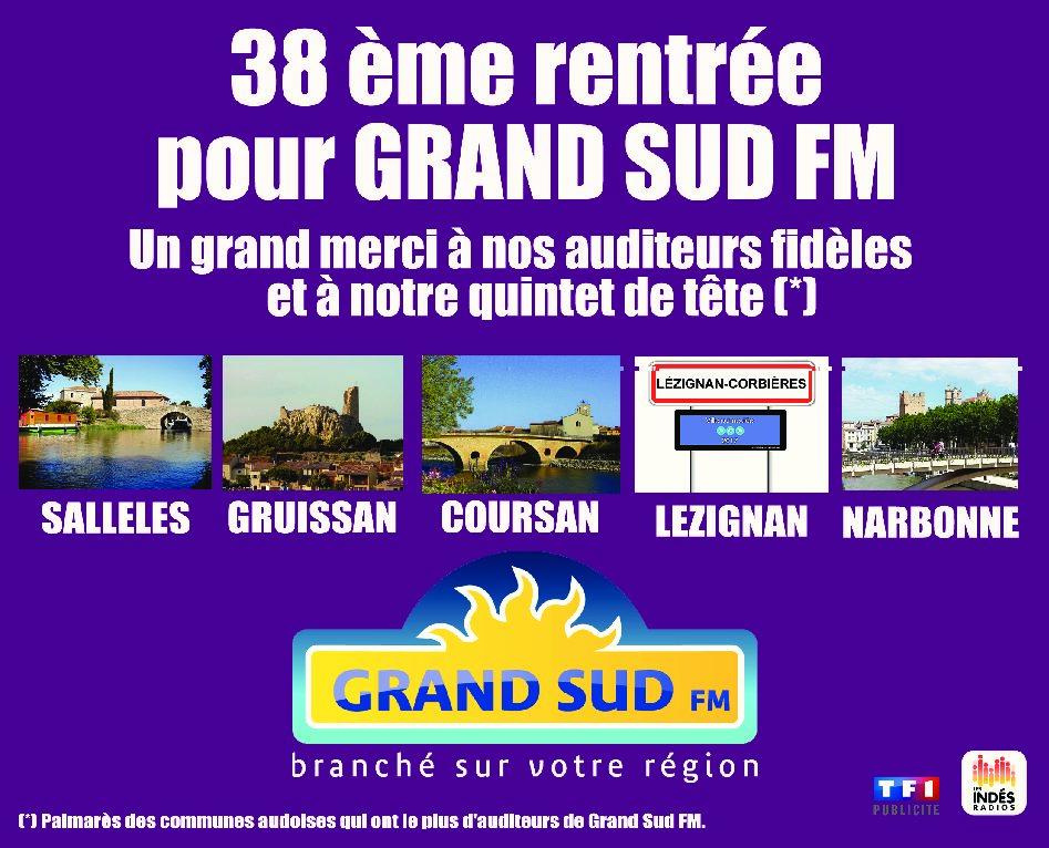 38 ème rentrée pour Grand Sud FM