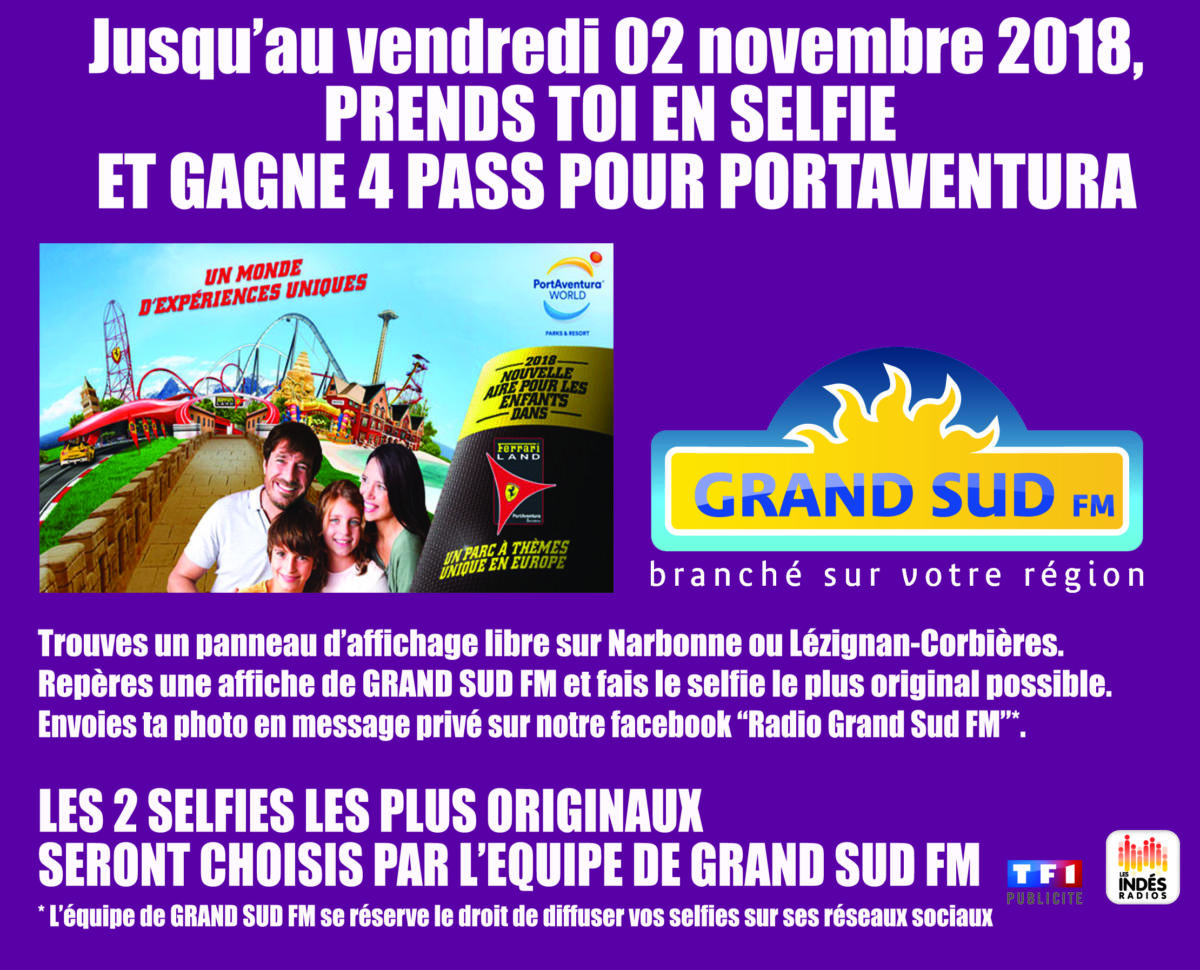 agenda_selfie_jeu portaventura_29oct_2nov18