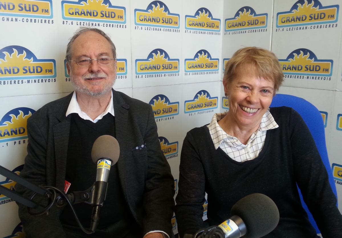 13-11-2018 Jean-Claude Golvin et Chantal Alibert, auteurs de la BD Quadratura