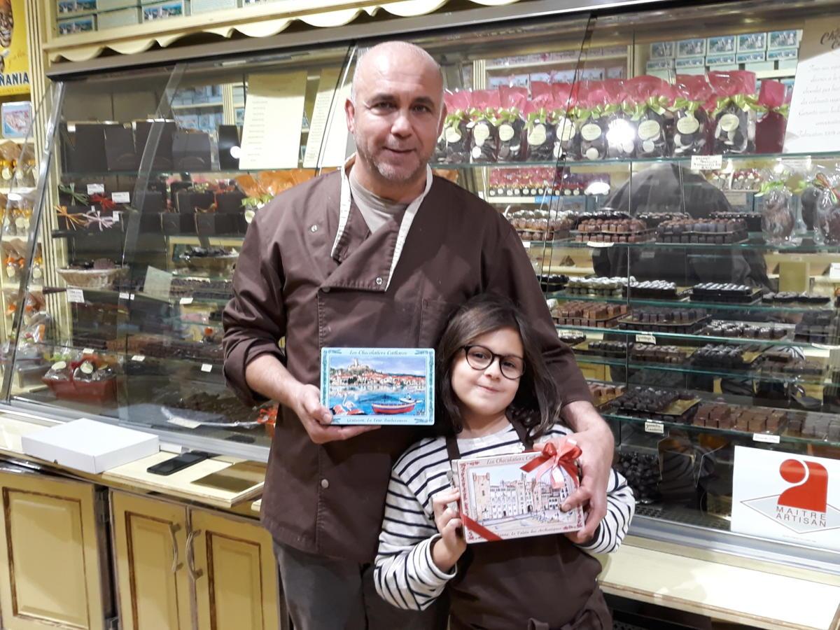 28-11-18 Le RDV Shopping chez les Chocolatiers Cathares à Montredon des Corbières