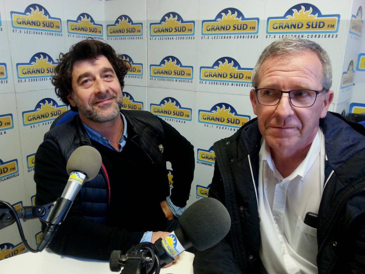 26-12-18 Ludovic Poux et Bernard Sanchez du Narbonne Escrime Club