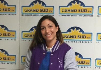 08-01-19 Amélie Leonard, ambassadrice de Geneticancer à Narbonne