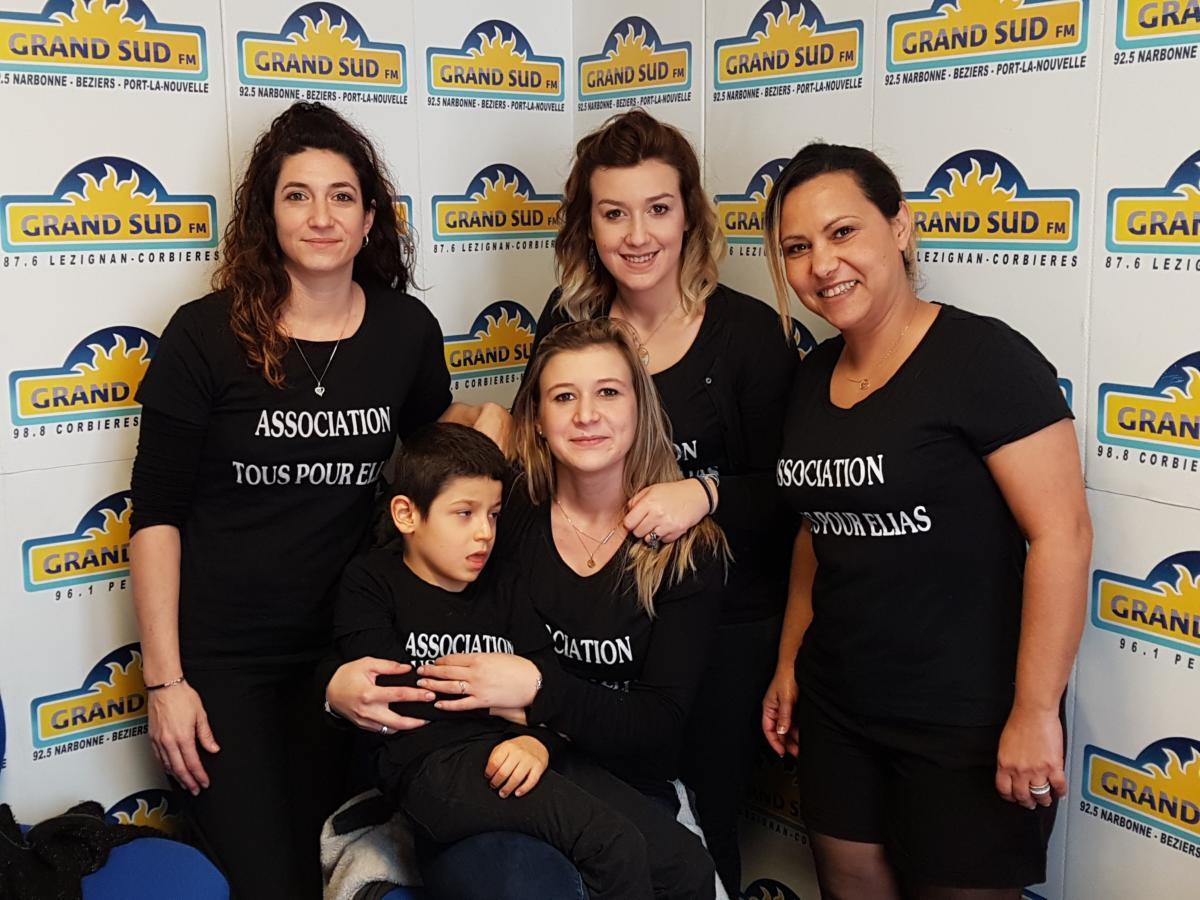 31-01-19 : Isabelle & Alison de l'Association «Tous pour Élias»