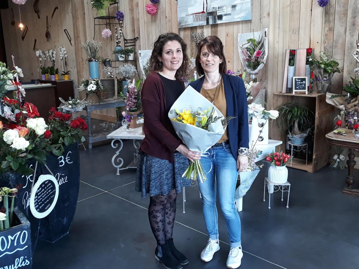 27-02-19 Le RDV Shopping de GRAND SUD FM chez  votre fleuriste Jour de Roses