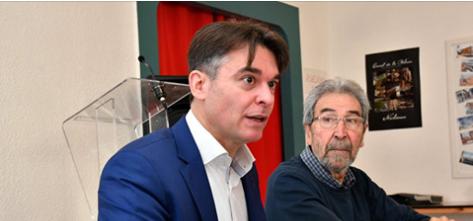 14-02-19 Nicolas Ste CLUQUE, conseiller municipal d'opposition & Porte parole de «J'aime Narbonne».
