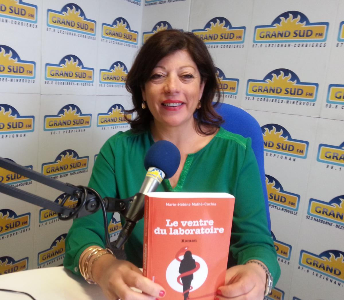 20-03-19 L'écrivaine Marie-Hélène MATHE-CACHIA