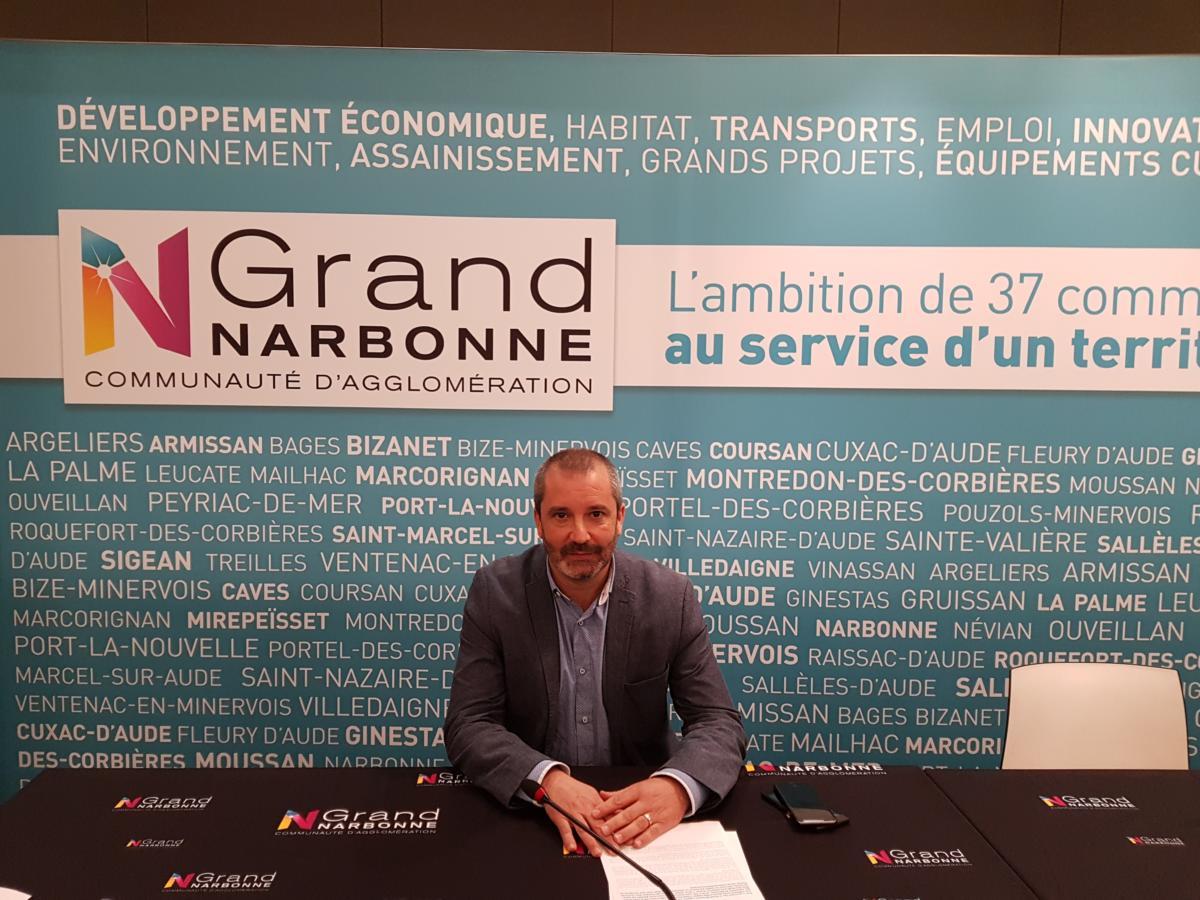 21-03-19 Pierre GOUZY, Directeur Pôle Emploi Narbonne