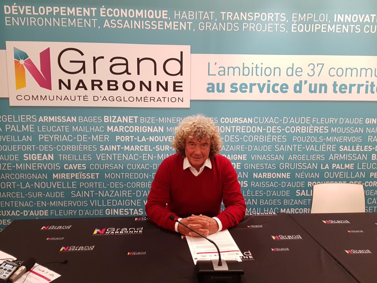 15-03-19 Christian LAPALU, président de la mission locale jeunes du Grand Narbonne
