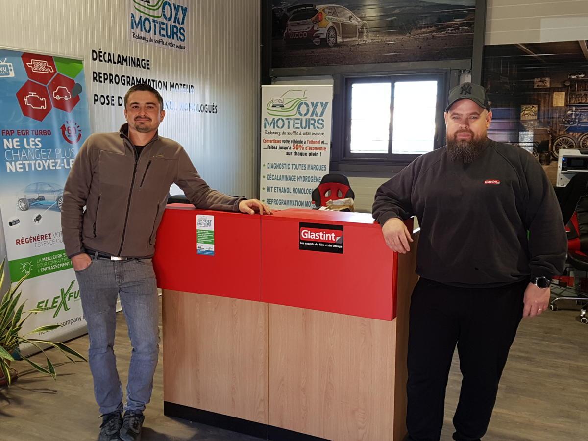 03-04-19 Le RDV Shopping de GRAND SUD FM chez Oxymoteurs et Glastint