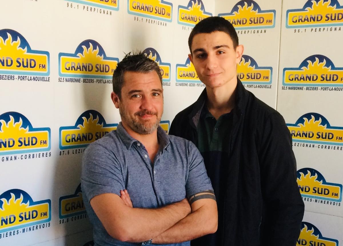 11-04-19 Thomas DHUMEZ, entraîneur du Narbonne Savate Méditerranée & Hugo BERNARD, Champion de France espoir de savate boxe française