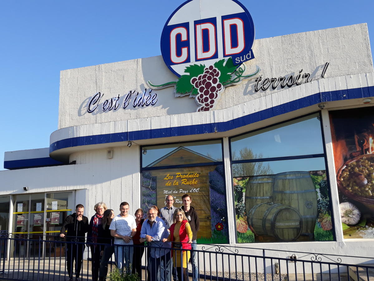 03-04-19 Le RDV Shopping de GRAND SUD FM chez CDD à Lézignan-Corbières