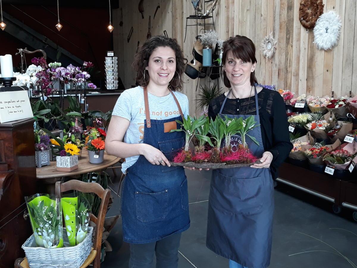 29-04-19 Le RDV Shopping de GRAND SUD FM chez votre fleuriste Jour de Roses à Narbonne