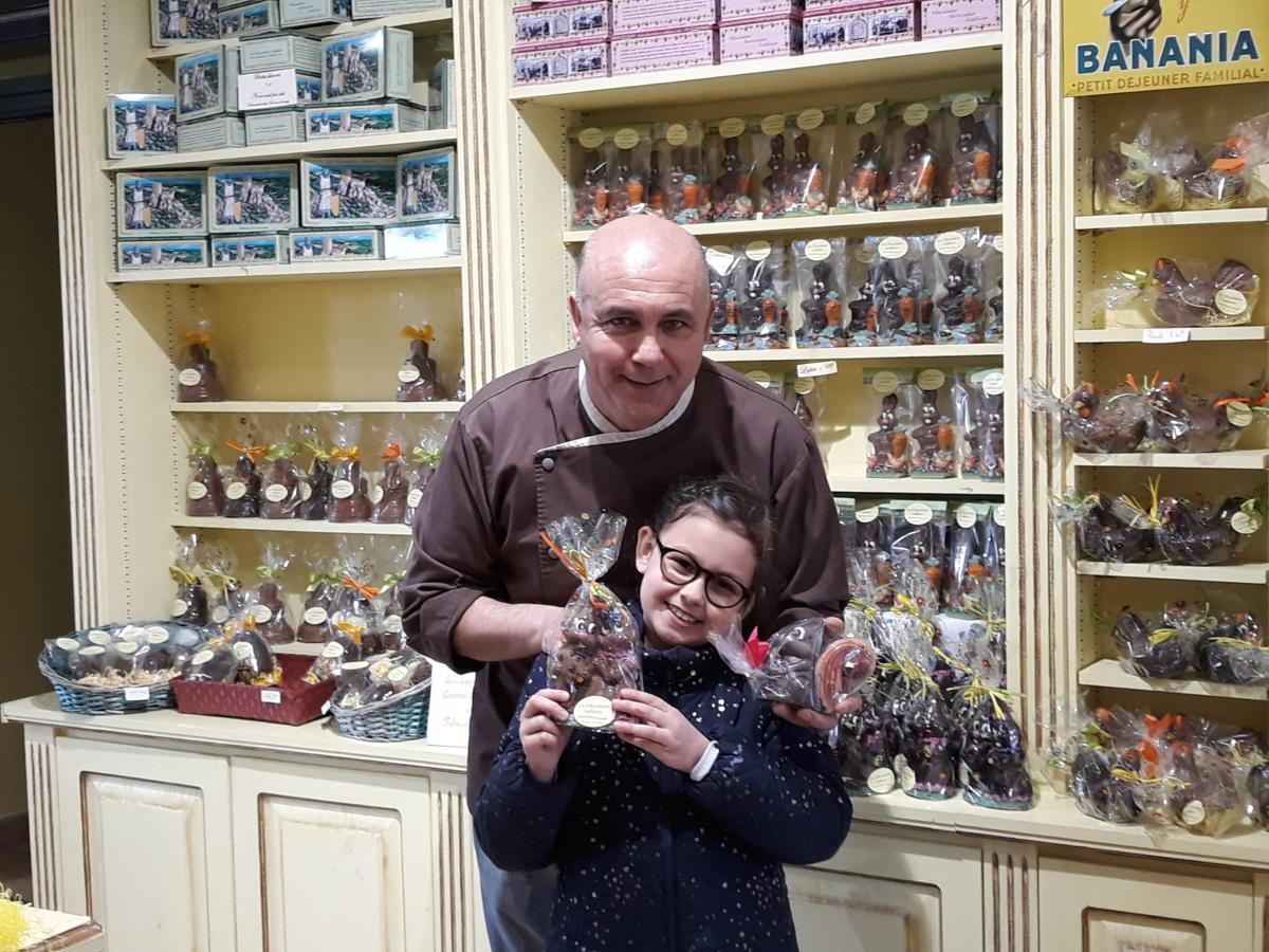 18-04-19 Le RDV Shopping de GRAND SUD FM chez Les Chocolatiers Cathares