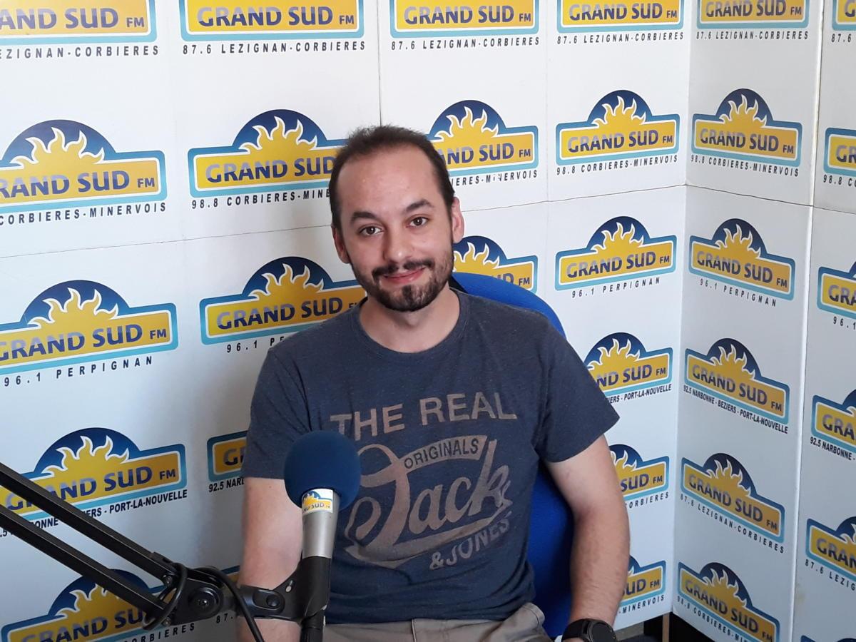 29-05-19 Jérémy CABRERA, président de l'association Phoebus Gaming Events