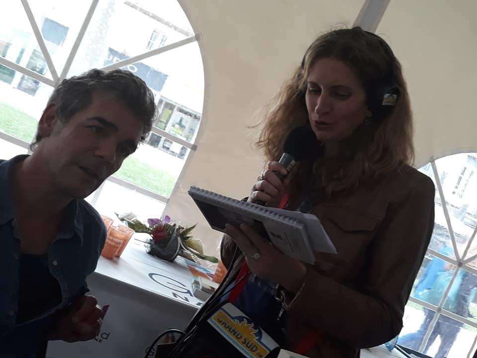 Salon du livre Grand Narbonne 2019, Xavier DE MOULINS