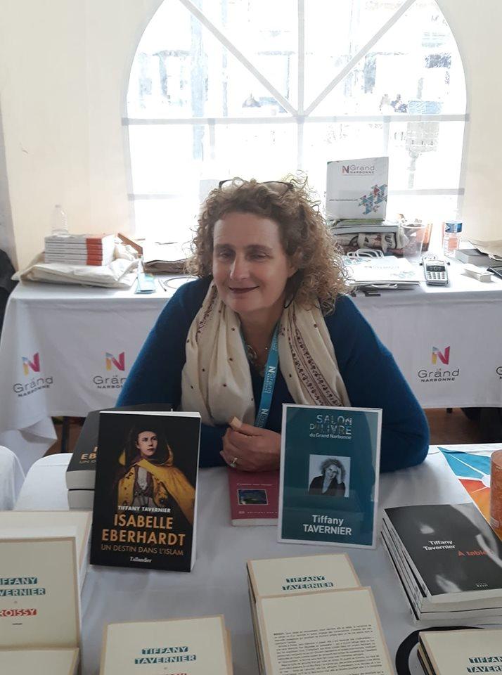 Salon du livre Grand Narbonne 2019, Tiffany TAVERNIER