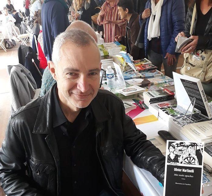 Salon du livre Grand Narbonne 2019, Olivier MARTINELLI
