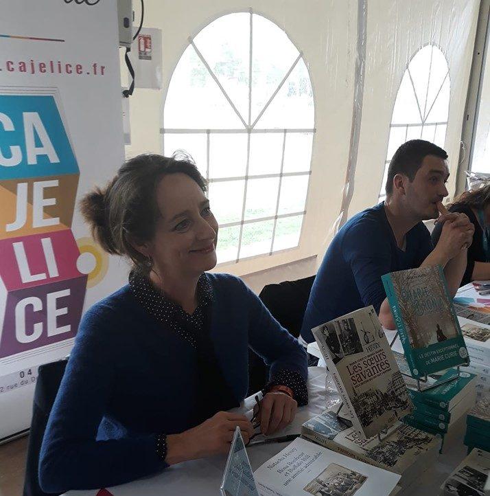Salon du livre Grand Narbonne 2019, Natacha HENRY
