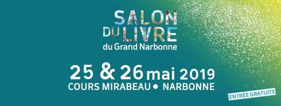 10-05-19 Marie BAT, Vice présidente déléguée à la culture présente le salon du livre à Narbonne