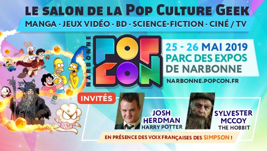 22-05-19 : Sébastien LAURENS, organisateur du salon Popcon ce weekend à Narbonne