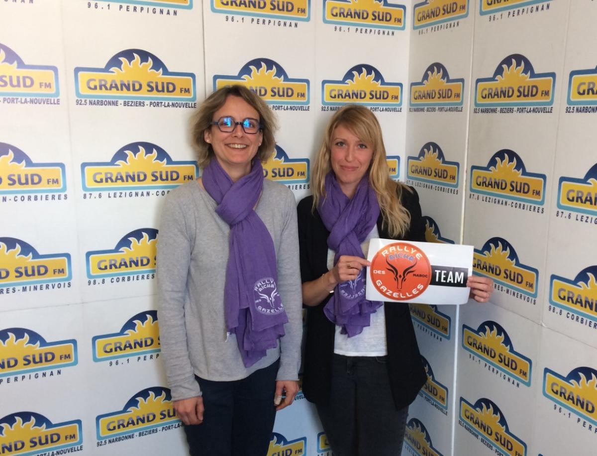 09-05-19 Sandrine & Prisca de la Team Wind Gazelles recherchent des fonds pour participer au Rallye des gazelles en 2020.
