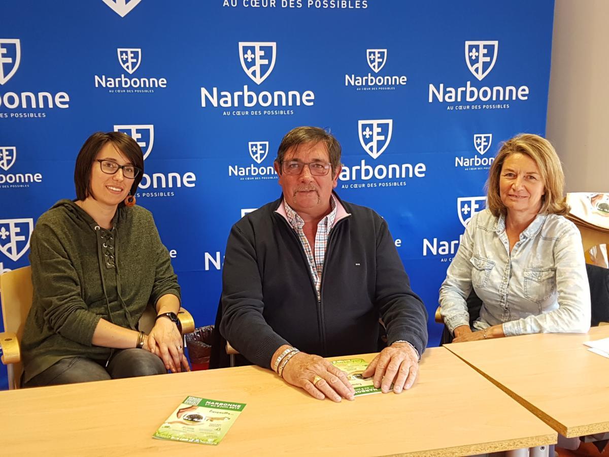 01-06-19 Xavier BELART, conseiller municipal délégué au développement durable à la ville de Narbonne