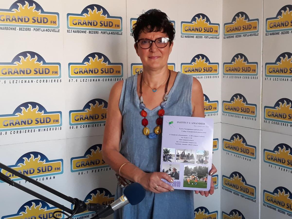 26-06-19 Les rdv audois avec Cathy FABRESSE, directrice de l'Institut l'Amandier à Lézignan-Corbières