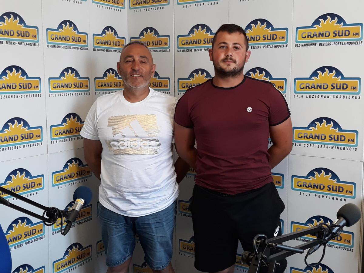 05-07-19 David RUIZ, président & Alexy CLIMENT, secrétaire de l'association Neptuneo
