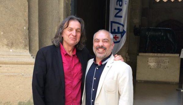10-07-19 Daniel TOSI, directeur du conservatoire de Perpignan & parrain du Festival Elizik à Narbonne