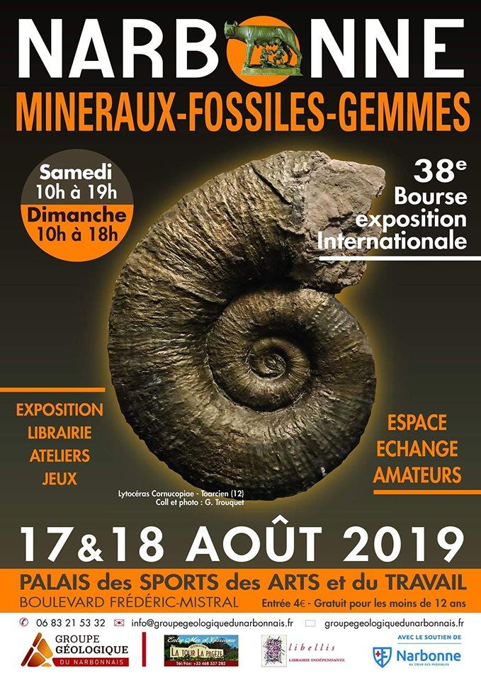 16-08-19 Paulette RIBAYNE, présidente du groupe géologique du Narbonnais