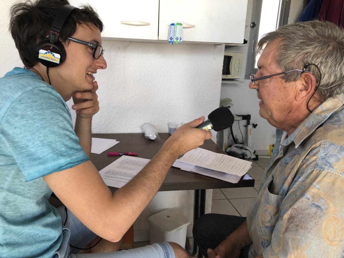 21-08-19 Philippe BONHOURE, conseiller municipal à Port-la-Nouvelle, sur de l'île Sainte-Lucie
